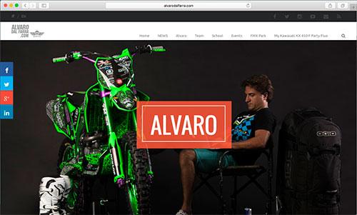 """<a href=""""http://alvarodalfarra.com"""" target=""""blank"""">alvarodalfarra.com</a>"""